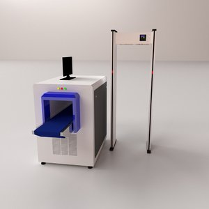 security scanner 3D model