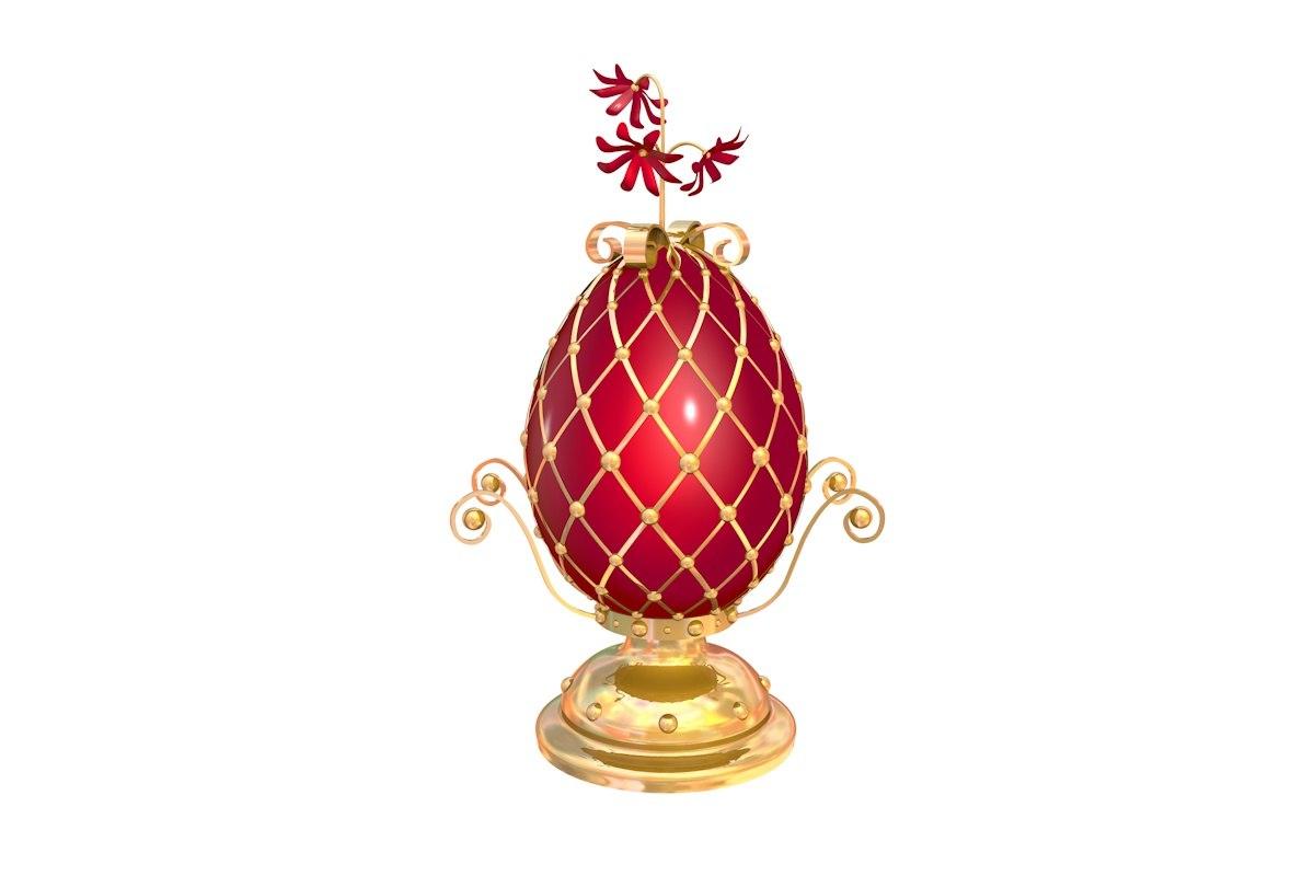 egg faberge 3D model