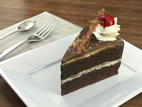 chocolate cherry cake model