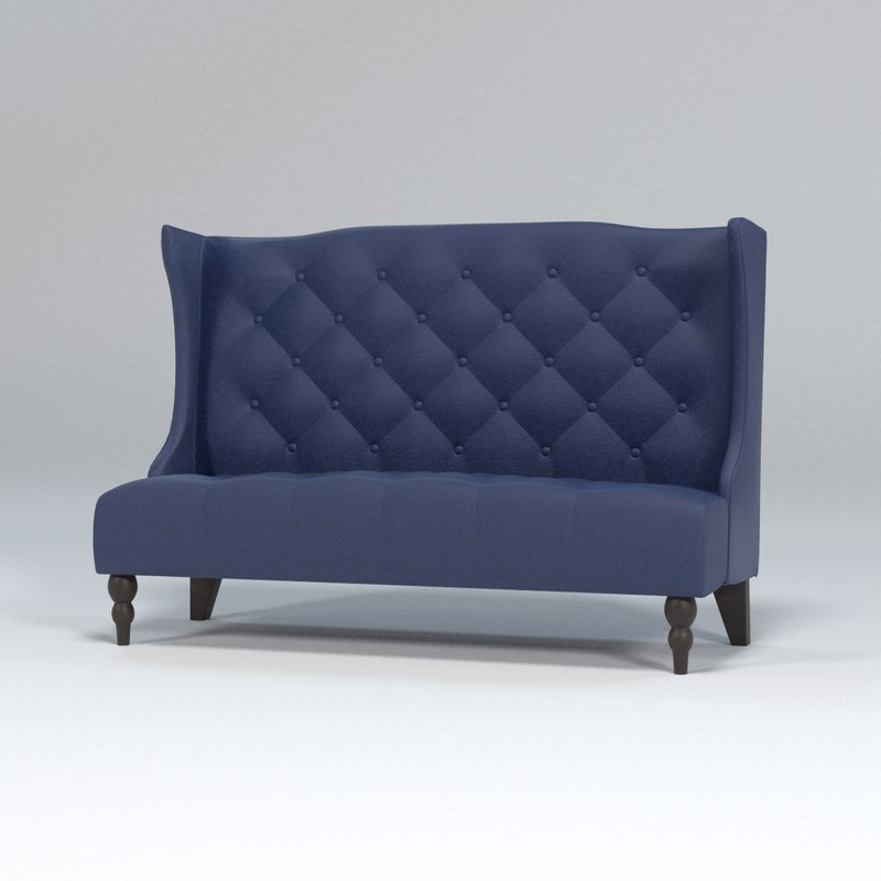 Sofa Traditional Tufted