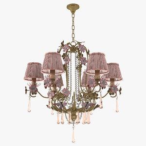 pataviumart luxury lightning chandelier 3D model