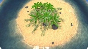 palm island 3D
