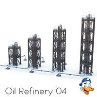 oil refinery model