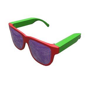 3D model super glasses