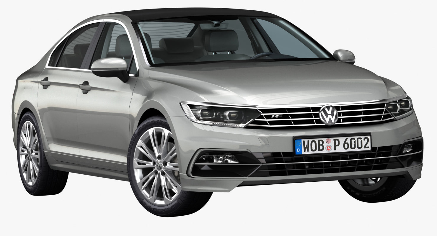 2015 volkswagen passat 3d model. Black Bedroom Furniture Sets. Home Design Ideas