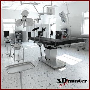 3D surgery room er model