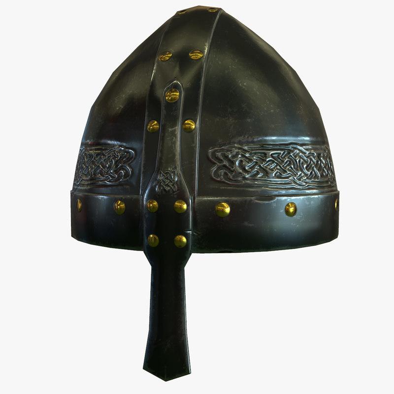 ancient helmet 3D model