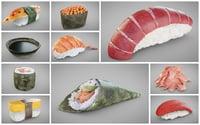 3D sushi sauce