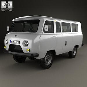 3D uaz 452 2206