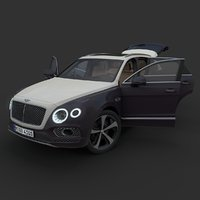 3D bentley bentayga model