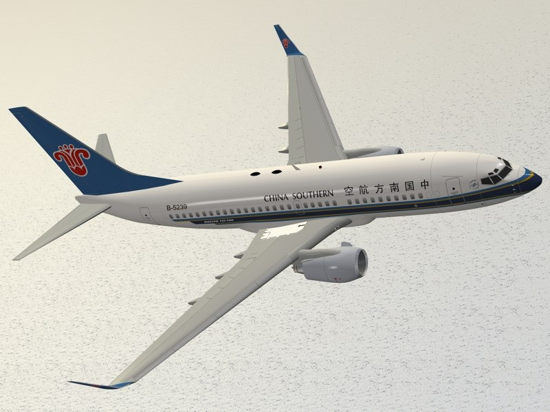 boeing 737-700 china southern 3D