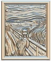 Edvard Munch The Scream  for CNC Router