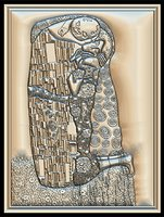 Gustav Klimt The Kiss for CNC Router
