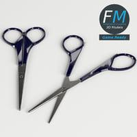 3D model scissors gr