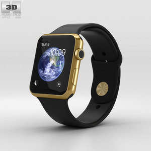 3D model apple watch edition