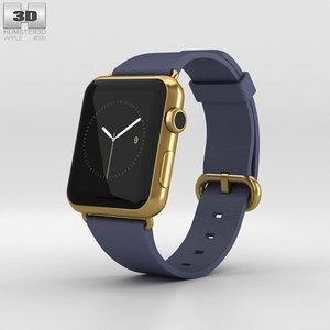 apple watch edition 3D model