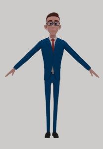 3D model character cartoon