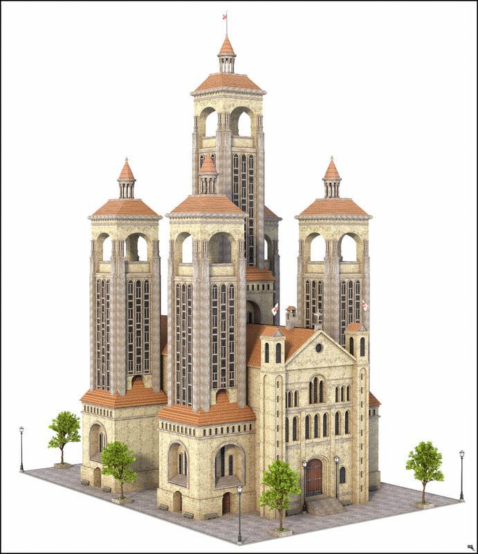 3D building historic