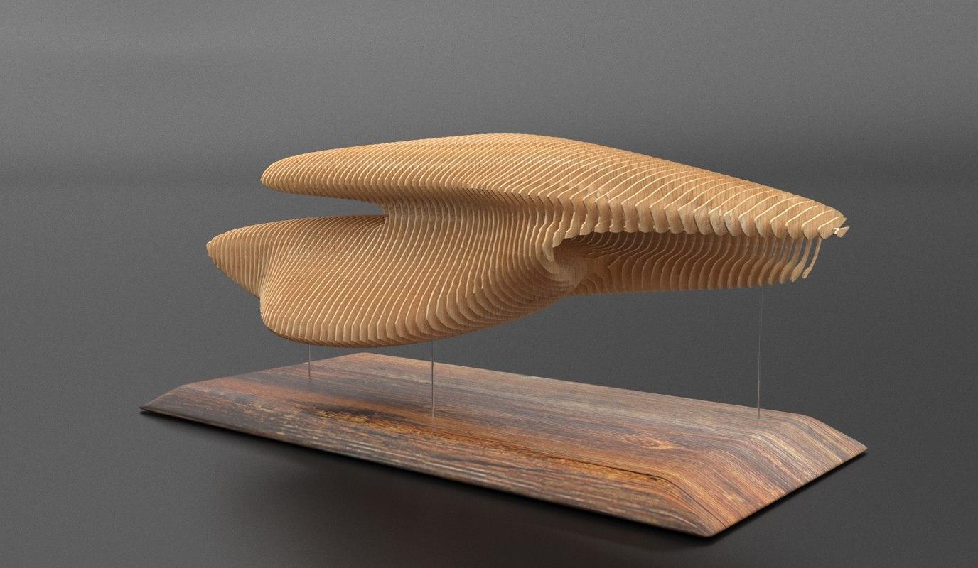 premium decor interiore design 3D model