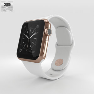 3D apple watch edition model