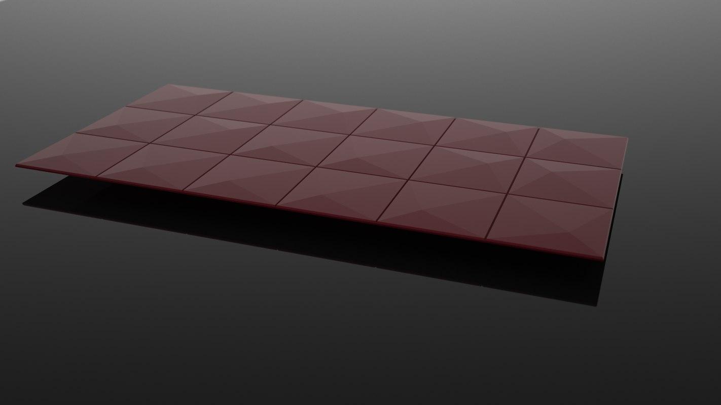 modern design tile wall 3D