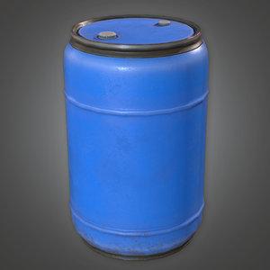 3D pbr ready - blue model