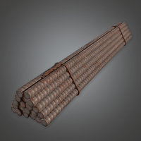 Rebar Set (Construction) - PBR Game Ready