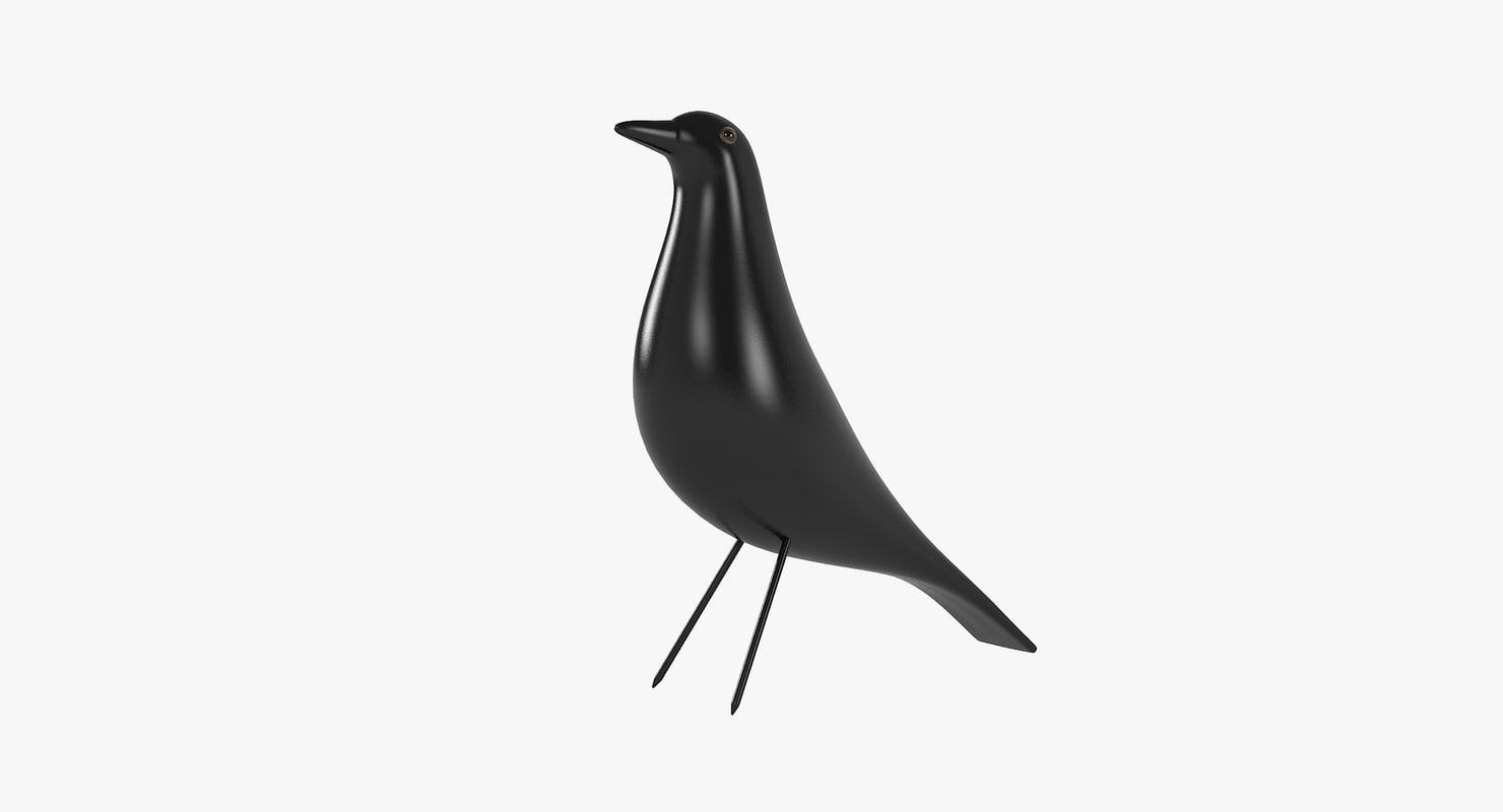 eames house bird vitra 3D model
