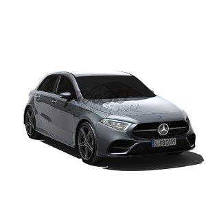 mercedes class 2019 3D model