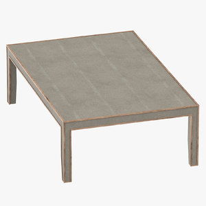3D transitional table model
