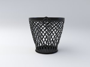 storage basket 3D model