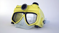 3D mask diver model