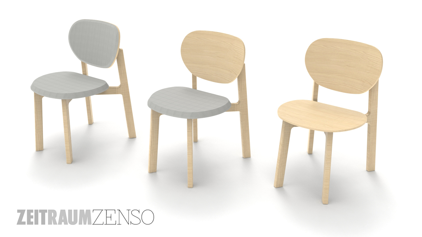 3D zeitraum seating model