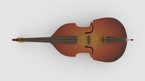 3D violin bass