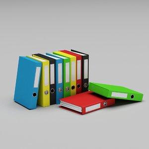 folders papers file model