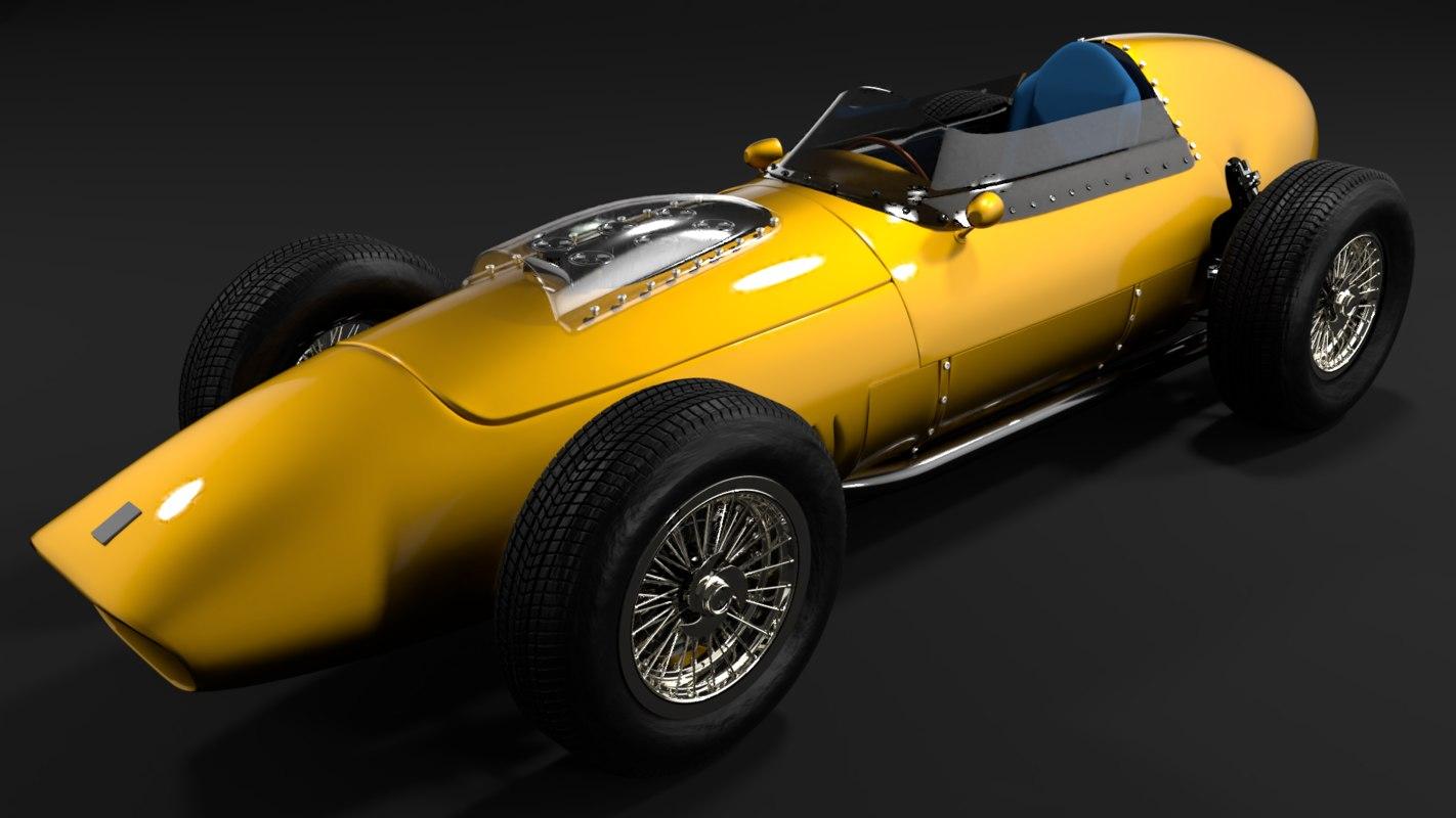 3D f1 1957 model