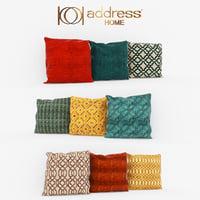 3D decorative pillows model