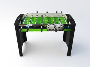 foosball table 3D