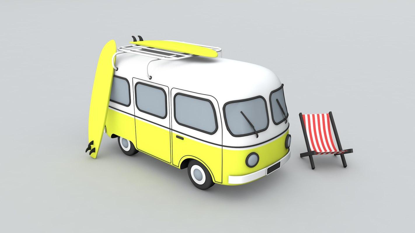 kombi 3D model