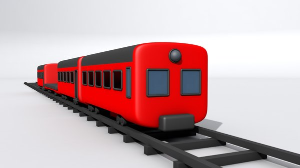 trains 3D model