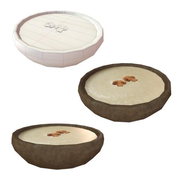 mushroom soup model