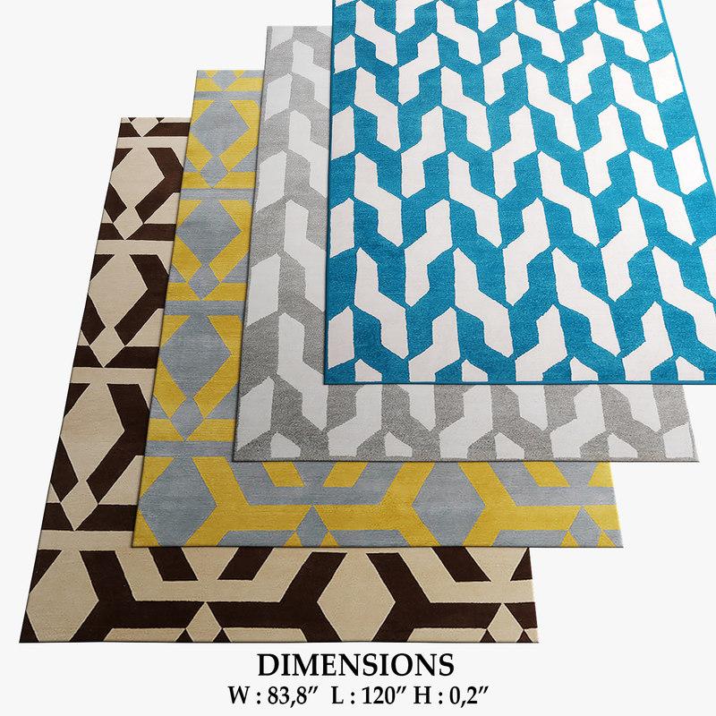 3D model rug company 45