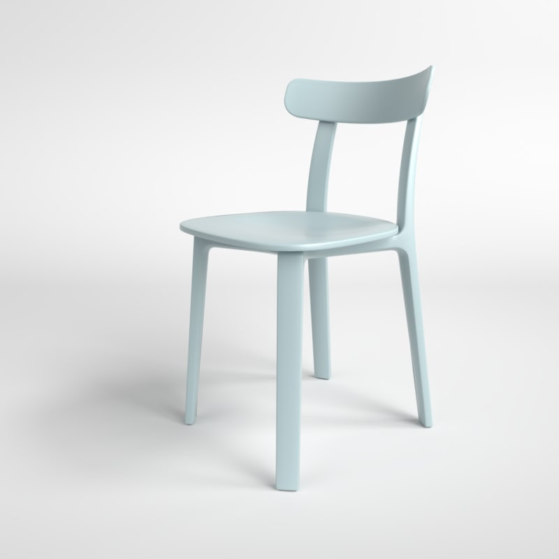 interior vitra plastic chair 3D