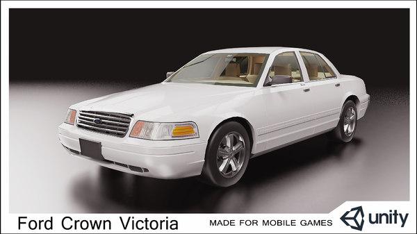 car mobile games 3D model
