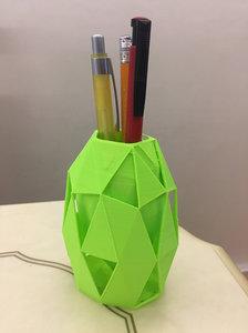 triangular pencil holder model