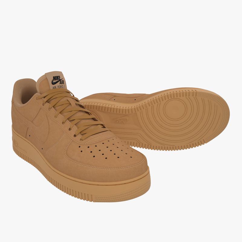 promo code 21808 bbb66 Nike Air Force 1 Low (Flax)