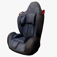 3D ready baby car seat