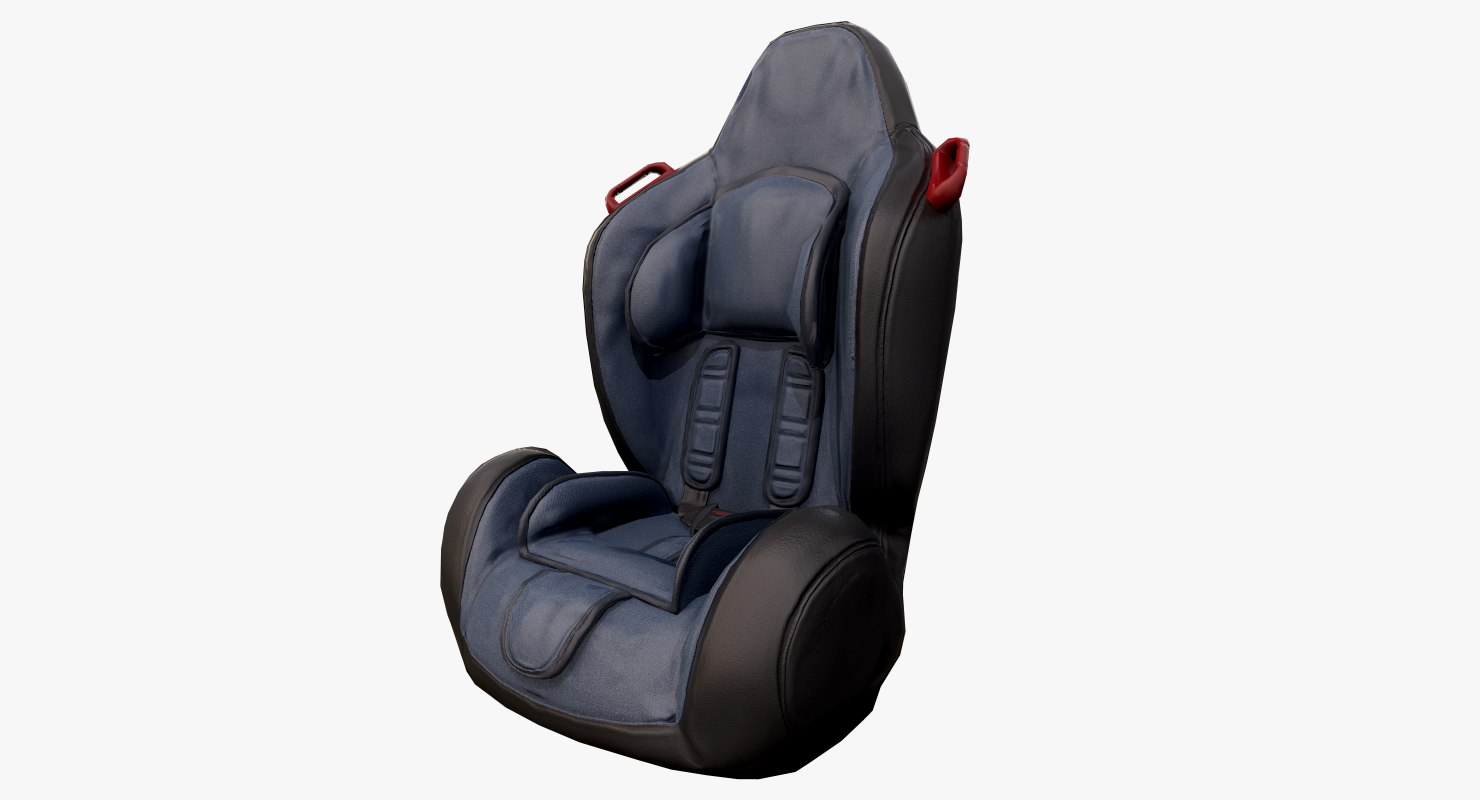 3D ready baby car seat