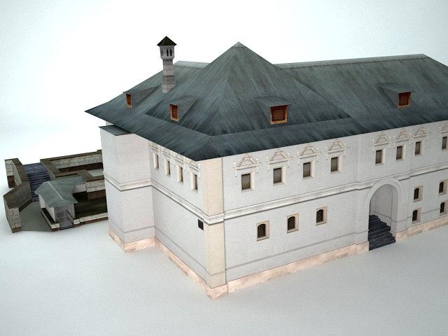 ancient mansion 3D model