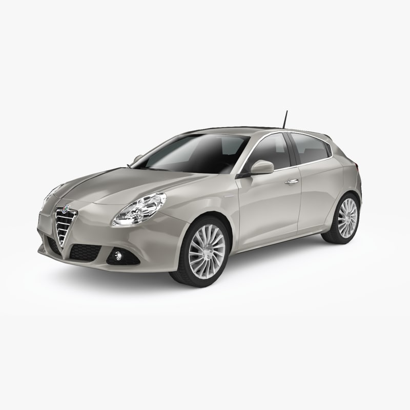 alfa romeo giulietta 2010 3D model